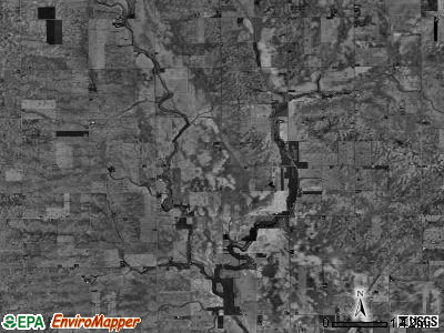 Crittenden township, Illinois satellite photo by USGS