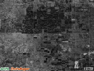 Lowe township, Illinois satellite photo by USGS