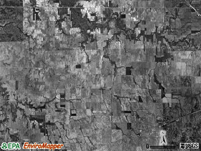 Whitley township, Illinois satellite photo by USGS