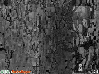 Cottonwood township, Illinois satellite photo by USGS