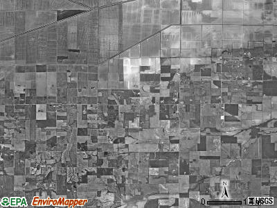 Beaver Creek township, Illinois satellite photo by USGS