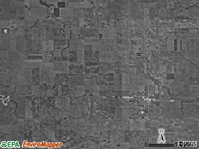 Grant township, Indiana satellite photo by USGS