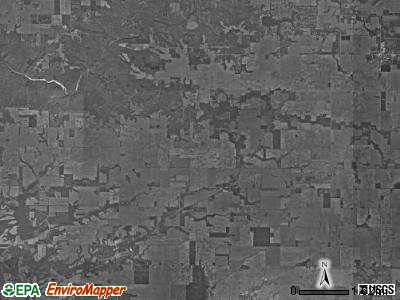 Brown township, Indiana satellite photo by USGS
