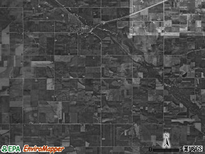 Stapleton township, Iowa satellite photo by USGS