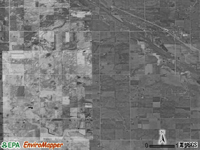 Grant township, Iowa satellite photo by USGS