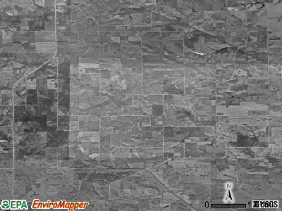Wyacondah township, Iowa satellite photo by USGS
