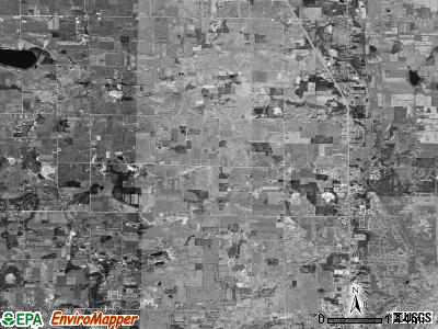 Alpine township, Michigan satellite photo by USGS