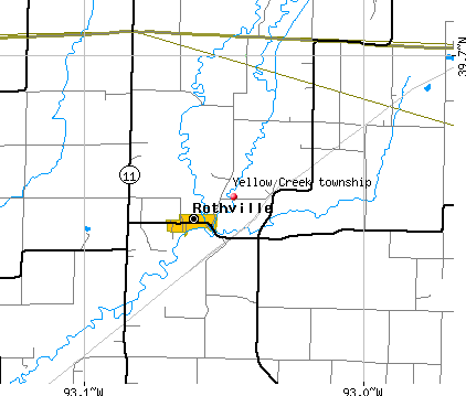 Yellow Creek township, Chariton County, Missouri (MO) Detailed Profileyellow creek township