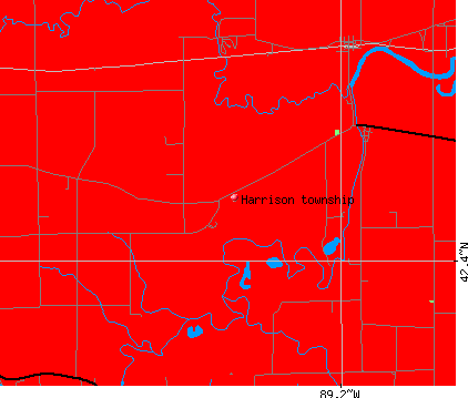 Harrison township, IL map