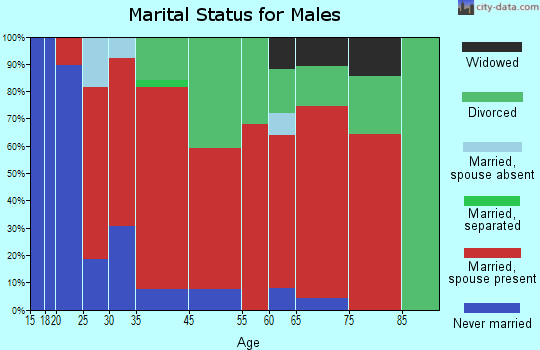 Brogan marital status for males