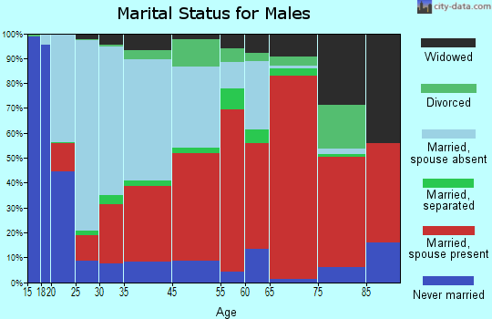 Dutch Fork marital status for males
