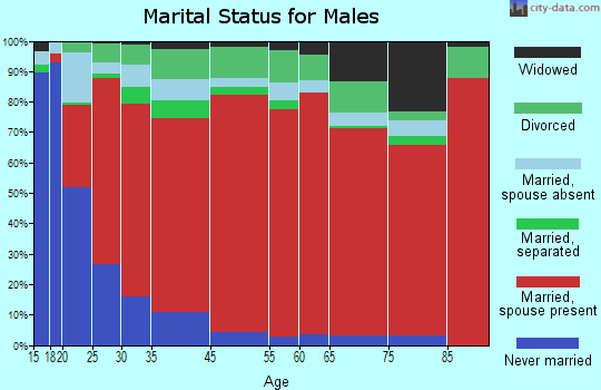 La Sara marital status for males