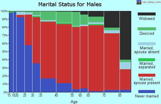 Norfolk marital status for males