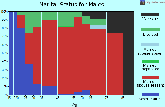 Mifflin marital status for males