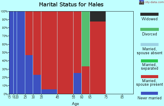Nevils-Stilson marital status for males
