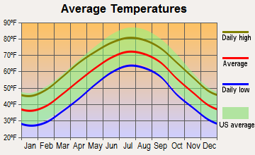 Slater-Marietta, South Carolina average temperatures