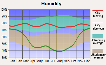 Wibaux, Montana humidity