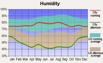 Holly, Colorado humidity