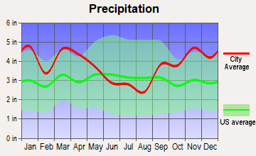 Friendship, Maine average precipitation