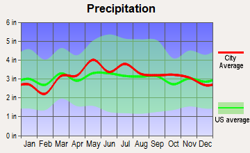 Hancock, Maryland average precipitation