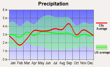 Breedsville, Michigan average precipitation
