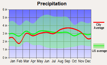 Negaunee, Michigan average precipitation