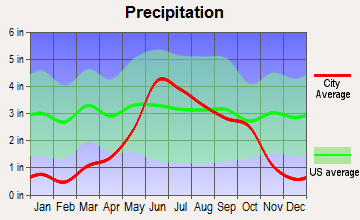 Elbow Lake, Minnesota average precipitation