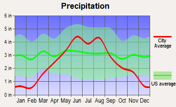 Green Isle, Minnesota average precipitation