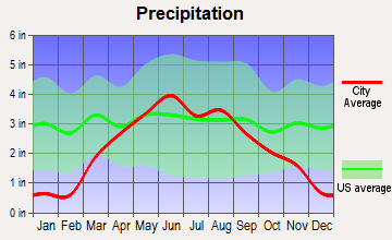 Slayton, Minnesota average precipitation