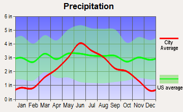Watson, Minnesota average precipitation