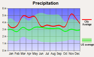 Naylor, Missouri average precipitation