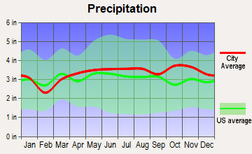 Manchester, New Hampshire average precipitation