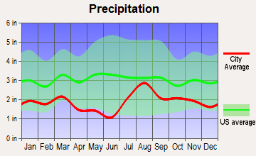 Chama, New Mexico average precipitation