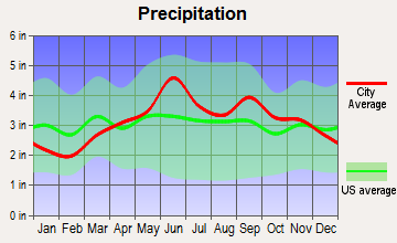 Alfred, New York average precipitation