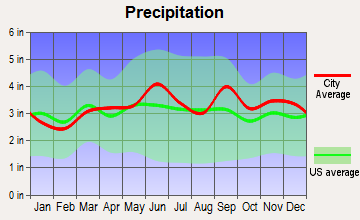 Cortland West, New York average precipitation