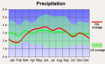 Pioneer, Ohio average precipitation