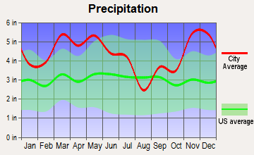 Ripley, Tennessee average precipitation