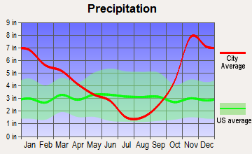 Maple Valley, Washington average precipitation