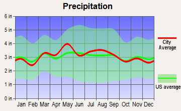 Wiley Ford, West Virginia average precipitation