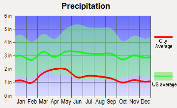 Estes Park, Colorado average precipitation