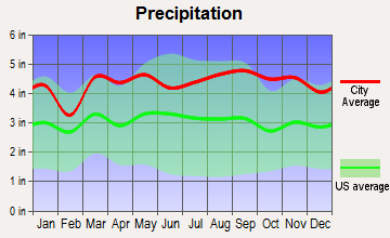 Canton Valley, Connecticut average precipitation