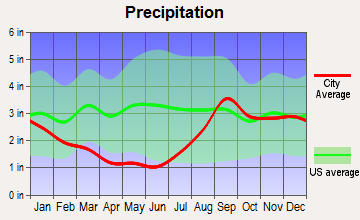Homer, Alaska average precipitation