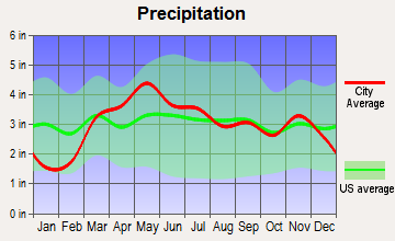 Alsey, Illinois average precipitation