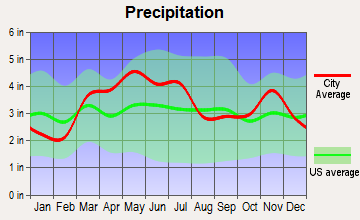 Altamont, Illinois average precipitation