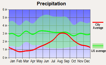 Levelock, Alaska average precipitation