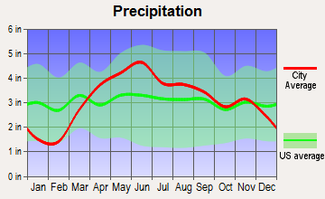 Grant Park, Illinois average precipitation