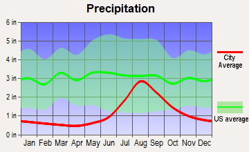 Brevig Mission, Alaska average precipitation