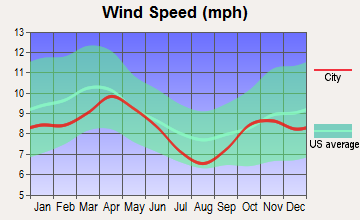 New Munich, Minnesota wind speed
