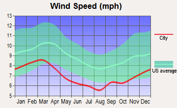 New Brockton, Alabama wind speed