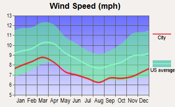 Mount Vernon, Georgia wind speed
